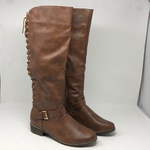 Lace Up Boots  size 11